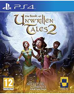 The Book of Unwritten Tales 2 £9.99 @ game