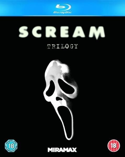 Scream 1-3 Box Set Blu-ray at Zavvi for £8.98 delivered