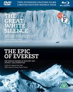 The Epic of Everest / The Great White Silence Box Set Blu-ray at Zavvi for £8.98