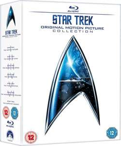 Star Trek 1 - 6 Box Set Blu-ray at Zavvi for £27.98 delivered