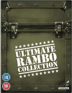 The Ultimate Rambo Collection 1-4 (2013) Blu-ray at Zavvi for £18.98 delivered