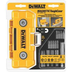 DEWALT DWMTC15 15-Piece Magnetic ToughCase at Amazon US for £12.86