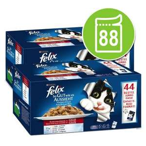 176 Felix AGAIL (Less Than 23p/Pouch) + Good Prices on Most Pet Supplies - £39.98 @ Zooplus