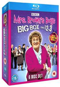 Mrs Browns Boys Complete BBC Series 1, 2 & 3 Blu Ray Collection [6 Discs] Box Set + 3 Christmas Specials £34.29 Sold by EOS. and Fulfilled by Amazon