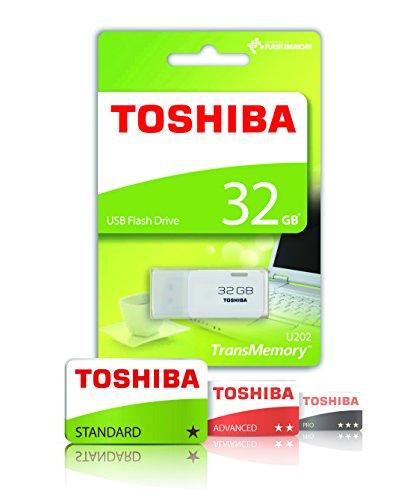 Toshiba TransMemory U202 32GB USB Flash Drive USB 2.0 - White - THN-U202W0320E4 £4.97 - Amazon Add-on Item