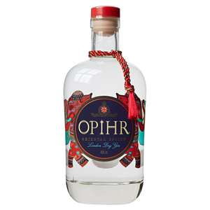 Opihr Oriental Spiced Gin, 70 cl was £22 now half price £11 at Co-op