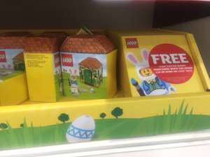 easter lego free when u spen £20 - Sainsbury's