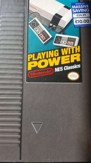 Playing with Power - Nintendo NES Classics Book £5 @ The Works