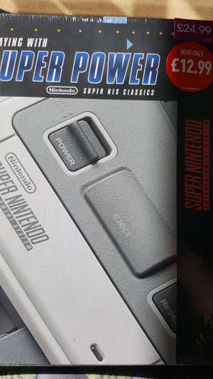 Playing with Power - Nintendo Super Nes Classics £12.99 @ Game