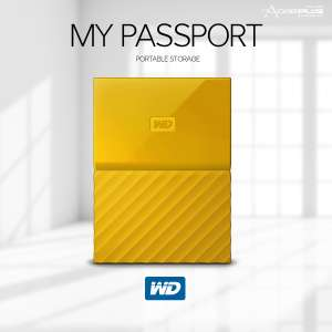 My Passport (Recertified)  2tb colour available blue orange yellow £39.99 @ WD