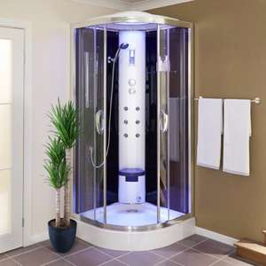 Steam Jet shower £649 - down from 1299 - 15 year warranty - (£29.95 delivery) or free click and collect @ Better Bathrooms