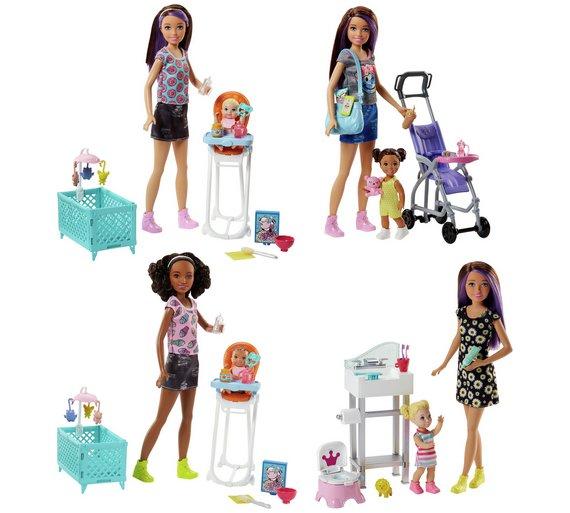 Barbie Sisters Babysitter Playset Assortment £11.99 @ Argos