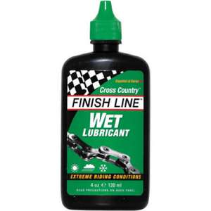 Finsh line Wet cycle lube £3.99 @ Wiggle