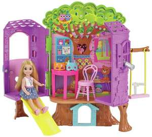 Barbie Chelsea Doll and Clubhouse Treehouse £16.49 @ Argos