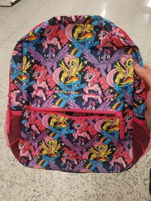 My little pony kids backpack £2 @ Asda Hunts Cross