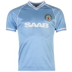 Manchester City 1982 Home Football Shirt Mens £18.50 @ Sports Direct