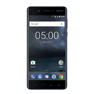 (used very good) Nokia 5 Dual Sim Smartphone (13.2 cm (5.2 inch) 16GB 13 Megapixel Camera, Android), 16gb @ amazon.de (amazon warehouse deals 20% off)