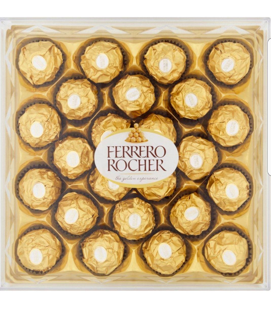 Ferrero Rocher (24 Pack) £5.50 @ Tesco