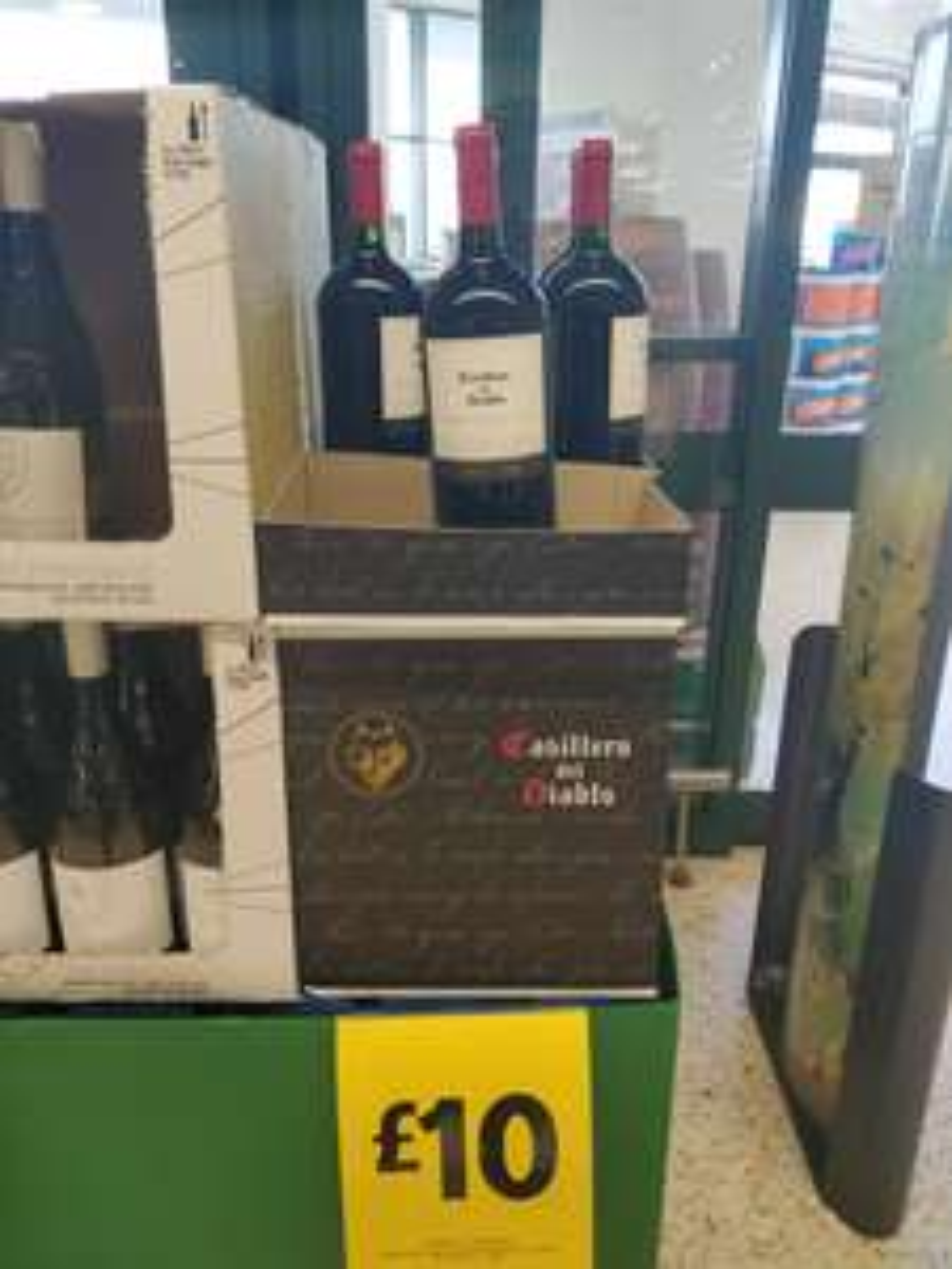 Morrisons,1.5ltr CasIllero del diablo, Cabernet Sauvigon - £10
