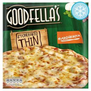 Goodfella's Stonebaked Thin Pizza (DIFFERENT VARIETY AVAILABLE) £1.00 @Tesco