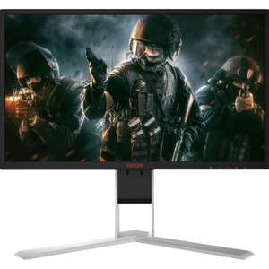 "AOC AGON AG251FG 25"" 1920X1080 TN G-SYNC 240HZ WIDESCREEN LED MONITOR - BLACK/RED £329.99 @ Overclockers"