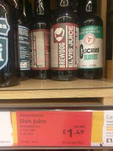 Brewdog - Elvis Juice 330ml bottle £1.49 @ Aldi