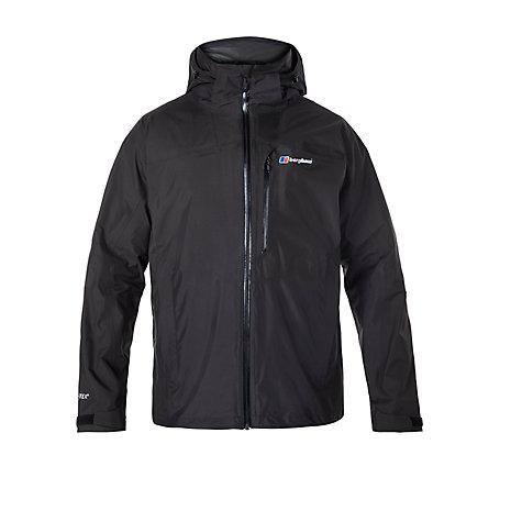Berghaus Island Peak Men's GORE-TEX Waterproof Jacket, Black, £110 at John Lewis
