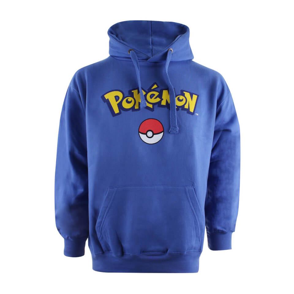 Pokémon Logo Mens Hoodie £14.99 + 99p delivery @ Zavvi