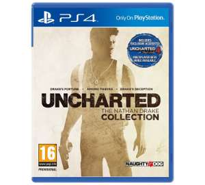 Uncharted Nathan Drake Collection - PS4 £21.99 @ Argos