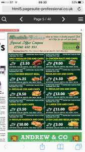 Chippy in Spalding (Lincolnshire) WestlodeFisheries donating 10% to local charity Easter weekend + Voucher Codes that can be used!!