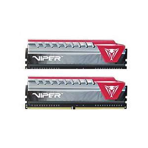 Patriot Viper Elite Series DDR4 16GB (2 x 8GB) 3000MHz Kit (Red) £114.66 @ Amazon