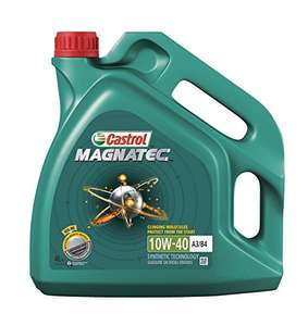 Castrol 151B20 Bundle MAGNATEC Engine Oil 10W-40 A3/B4, 4L - Green £21.37 @ Amazon