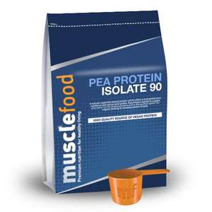 Pea Protein Isolate 90 - 1 KG £5.30 @ Muscle Food