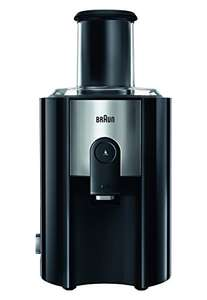 Braun J500 Spin Juicer, 1.25 Litre, 900 Watt, Black [Energy Class A] - was £131.48 now £49.99 @ Amazon