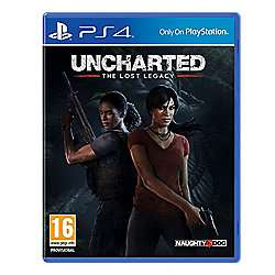 Uncharted: The Lost Legacy £14.00 // Wipeout Omega Collection £14.00 Tesco
