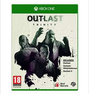 Outlast Trinity  Xbox One/ PS4, for £16.85 delivered @ Base