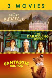 Wes Anderson 3 HD Film Bundle - £5.99 iTunes