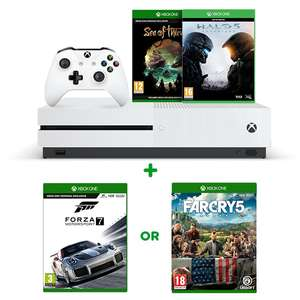 Xbox One S 1TB Sea of Thieves, Halo 5 + Any Game £229.99 - Smyths Toys