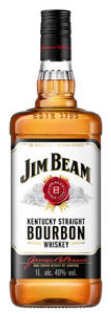 Jim Beam Kentucky Straight Bourbon Whiskey 1ltr £16 @ *hic* Asda