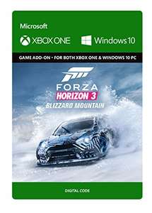 Forza Horizon 3 Blizzard Mountain DLC [Windows 10/Xbox One] Download code £7.15 Amazon