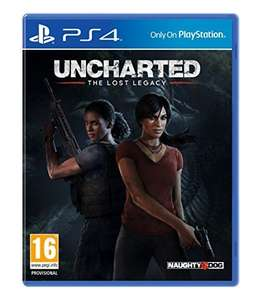 Sony Uncharted: The Lost Legacy (Includes free download of That's You) - PS4 £13.49 prime / £15.48 non prime @ Amazon