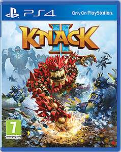 Knack 2 (PS4) / Horizon Zero Dawn (PS4) / Everybody's Golf (PS4) / The Last Guardian (PS4) £14.99 ea. Delivered @ GAME