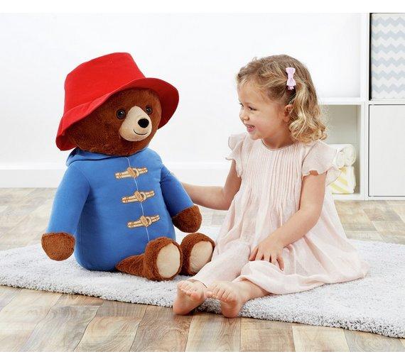 Giant Movie Paddington Bear Soft Toy (52cm) Half Price now £14.99 C+C @ Argos
