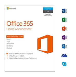 Office 365 5 devices £52.99 @ Amazon