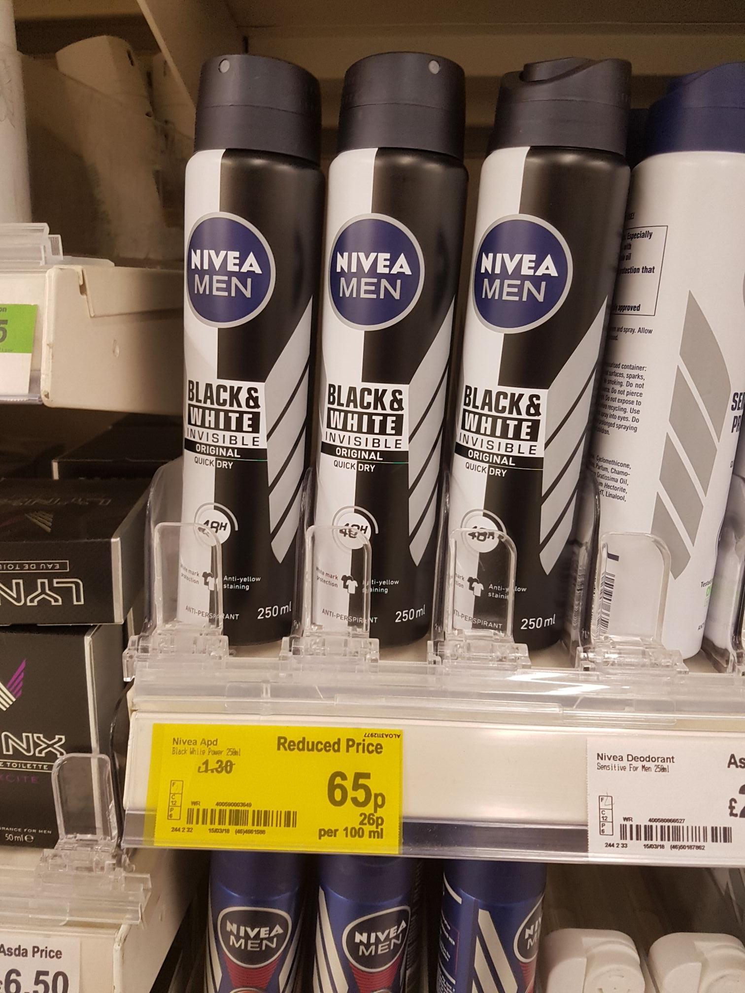 Novea invisible deodorant 65p @ Asda Hunts cross Liverpool