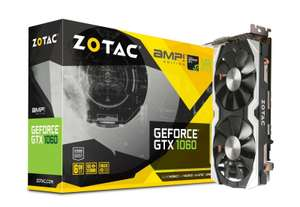 £100 off Zotac GeForce GTX 1060 6GB AMP! Edition 6GB GDDR5 Graphics Card £269.98 Ebuyer