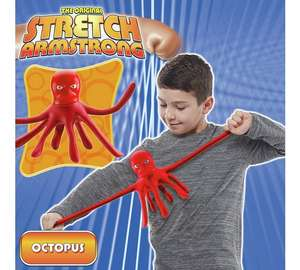 Stretch Armstrong - Mini Stretch Octopus HALF PRICE £5.99 @ Argos