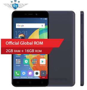 Global Version Xiaomi Redmi 4A 4 A 2GB 16GB Smartphone 5.0'' Snapdragon 425 Quad Core 13MP Camera MIUI 8.5 Android 6.0 FDD LTE with band 20 support £59.83 @ eternal /aliexpress