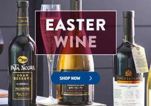 FREE delivery on wine by the case at Aldi online