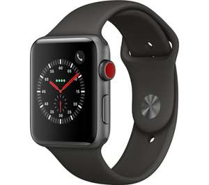 Apple Watch Series 3 Cellular £50 off at Currys - 42mm £379, 38mm £349